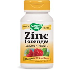 Nature's Way ZINC with Echinacea & Vit.C 60 lozenges