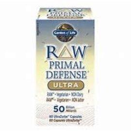 Garden of Life Raw Primal Defense 50billion 30 Capsules UltraZorbe