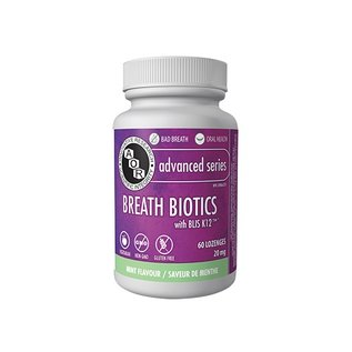 AOR Breath Biotics 60 Lozenges 20mg