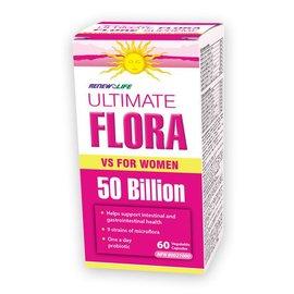 Renew Life Ultimate Flora for Women 50billion 60 vegetable capsules