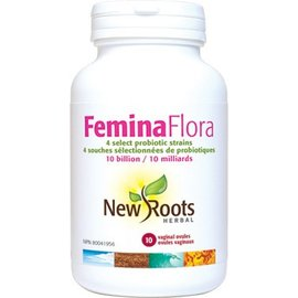 New Roots Femin Flora 10 vaginal ovules