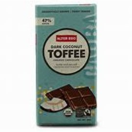 Alter Eco Fair Trade Dark Coconut Toffee