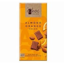 Ichoc Ichoc Almond Orange Vegan