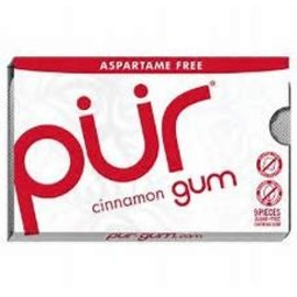 PUR GUM GUM CINNAMON 9 PC