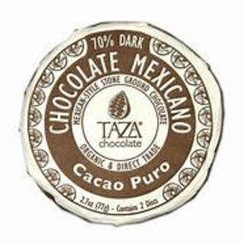 TAZA Chocolate Cacao Puro 77g
