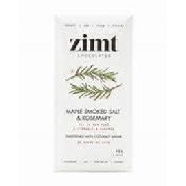Zimt Chocolates Maple Smoked Salt and Rosemary 40g