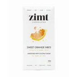 Zimt Chocolates Sweet Orange NIB'D 40g
