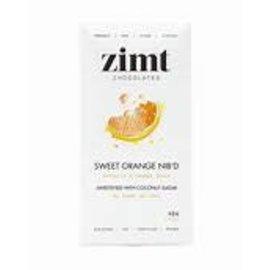 Zimt Chocolates Sweet Orange NIB'D 40g