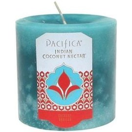 Pacifica Indian Coconut Nectar 3x3 Pillar