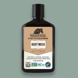 Warhorse Cedarwood Spice Body Wash