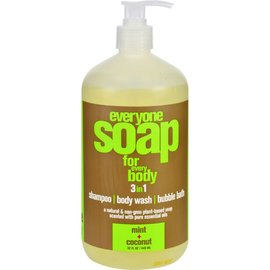Everyone Everyone Soap MInt & Coconut 473ml