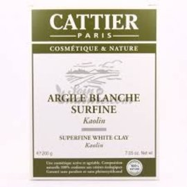 Cattier Superfine White Clay 200g