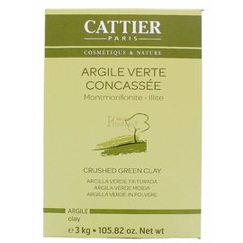 Cattier Crushed Green Clay 3kg