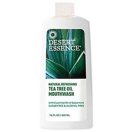 Desert Essence Tea Tree Mouthwash with Spearmint 240ml