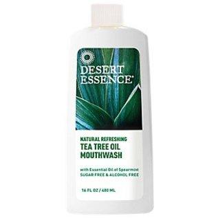 Desert Essence Tea Tree Mouthwash with Spearmint