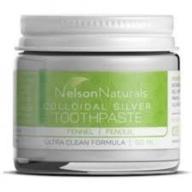 Nelson Naturals - CDN Fennel Colloidal Silver Toothpaste 60ml