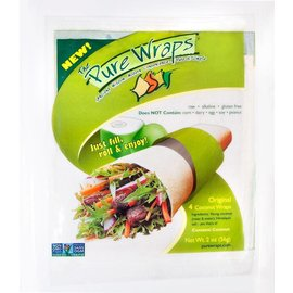 Pure Wraps Coconut wraps; no dairy, gluten, nuts or corn