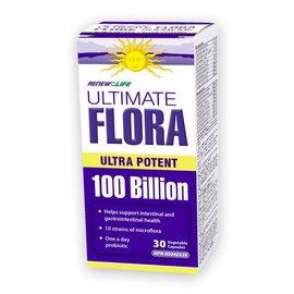 Renew Life Ultimate Flora Ultra Potent 100B 30ct