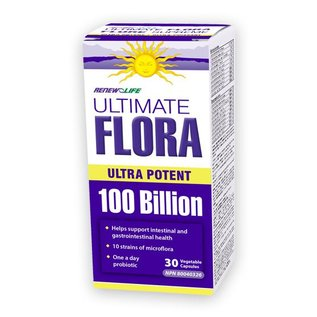 Renew Life Ultimate Flora Ultra Potent 100B 30ct