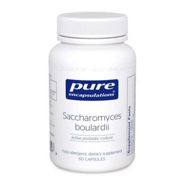 Pure Encapsulations Sacchromyces boulardii 60s