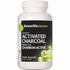 Innovite Health Activated Characoal 90 Vcaps