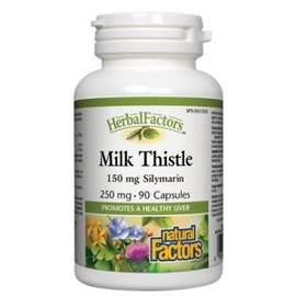 Natural Factors Milk Thistle 250mg 90caps