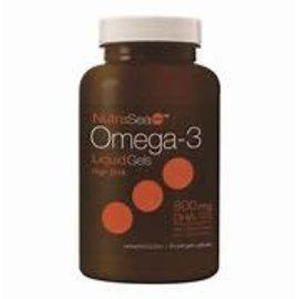 NutraSea NutraSea High DHA Liquid Gels Omega-3 60's