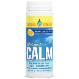 Natural Calm Natural Calm Magnesium Sweet Lemon 226gr