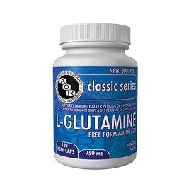 AOR L-Glutamine 750mg 120 vegi-caps