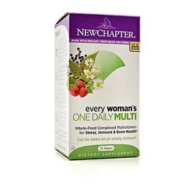 New Chapter 40+ every woman s One Daily Multivitamin 72tabs