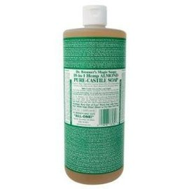 Dr. Bronner Almond Oil Pure Castile Soap Liq 946ml