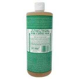 Dr. Bronner Almond Oil Pure Castile Soap Liq 946ml