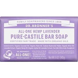 Dr. Bronner Lavender Bar Soap