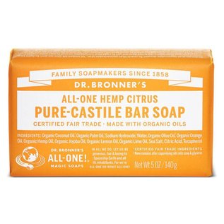 Dr. Bronner Citrus Orange Bar Soap
