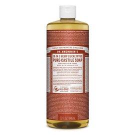 Dr. Bronner Eucalyptus Oil Pure Castile Soap Liq 946ml