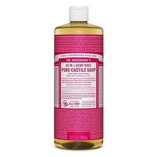 Dr. Bronner Org Rose Oil Castile Soap 946ml