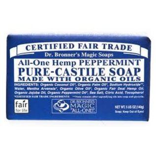 Dr. Bronner Peppermint Bar Soap