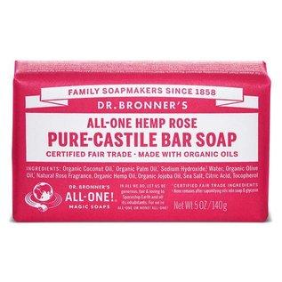 Dr. Bronner Rose Bar Soap