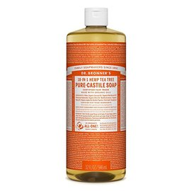 Dr. Bronner Tea Tree Oil Pure Castile Soap Liq 946ml