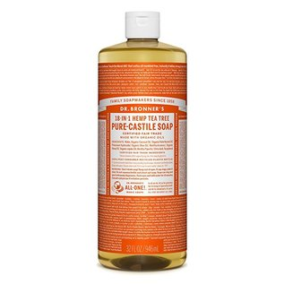 Dr. Bronner Tea Tree Oil Pure Castile Soap Liq 946ml