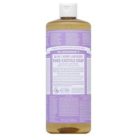 Dr. Bronner Lavender Oil Pure Castile Soap Liq 946ml