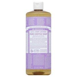 Dr. Bronner Lavender Oil Pure Castile Soap Liq 946ml