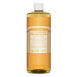 Dr. Bronner Citrus Orange Oil Castile Soap 946ml