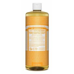 Dr. Bronner Citrus Orange Oil Castile Soap 946ml