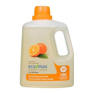 Eco Max 2X Concentrated Natural Orange Laundry Wash