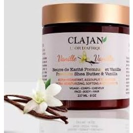Clajan Beurre de Karite Premium Vanille 237ml