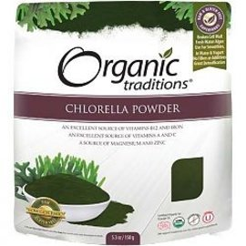 Organic Traditions Chlorella Powder 150g