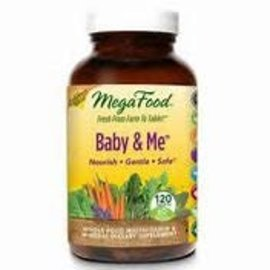 Mega Food Baby and me 120 tablets