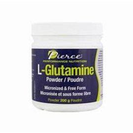 Pierce Performance Nutrition L-Glutamine Powder 200g