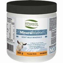 St. Francis Mineral Matrix Goat Whey - 720g